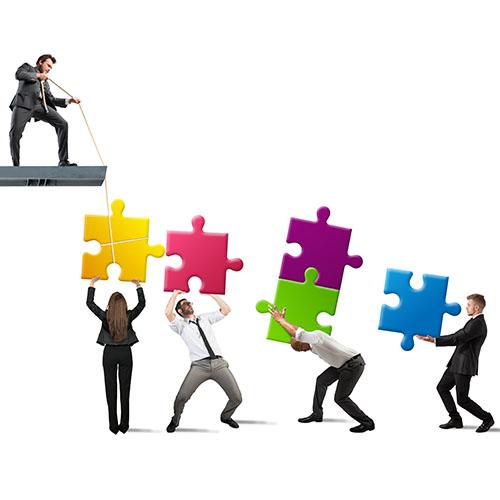 Training Visueel Teamwork Bouw Beter